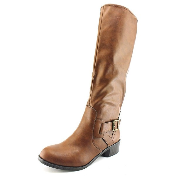 Arizona Jean Company Dylan Women Round Toe Synthetic Brown Knee High Boot