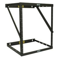 Tripp Lite 8U/12U/22U Expandable Wall-Mount 2-Post Open Frame Rack, Adjustable Network Equipment Rack, Switch Depth, 18""