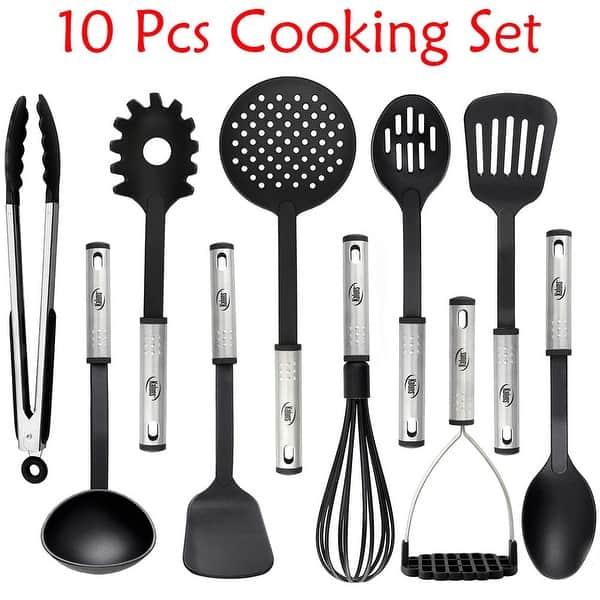 Shop Kitchen Utensil set - Nylon / Stainless Steel Cooking ...