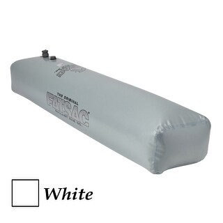 Fatsac tube sac ballast bag - 370 pounds - white w704-white
