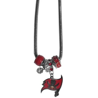 Tampa Bay Buccaneers Necklace Euro Bead Style