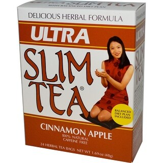 Hobe Laboratories Ultra Slim Tea Cinn-Apple 24 Bag