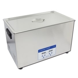 30L Professional Digital Ultrasonic Cleaner Machine with Timer Heated Stainless steel Cleaning tank 110V/220V