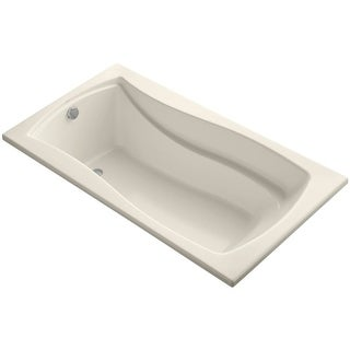 "Kohler K-1229 Mariposa Collection 66"" Drop In Soaking Bath Tub with Reversible Drain"