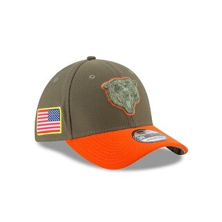 Chicago Bears 39THIRTY 2017 OnField Salute to Service Hat