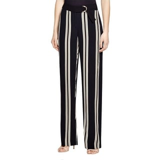 Vince Camuto Womens Casual Pants Striped Wide Leg