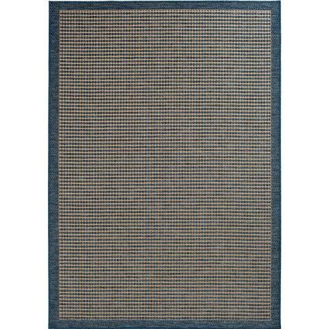 Trisha Yearwood Home Collection Gather Avola Cobalt/Natural Indoor Outdoor Area Rug