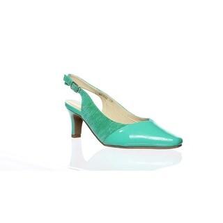 Shop Walking Cradles Womens Green Slingbacks Size 6 (C