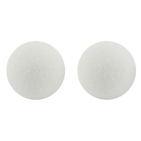 Hygloss styrofoam 4in balls pack of 12 51104
