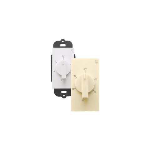 Air King AKT15 Exhaust Fan Control Switch with Simultaneous Delay Timer