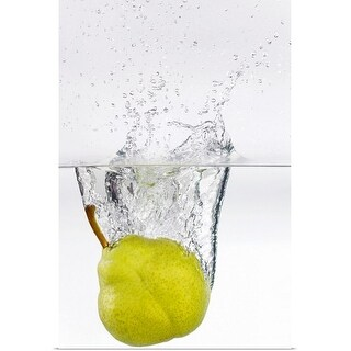 """Pear in water"" Poster Print"