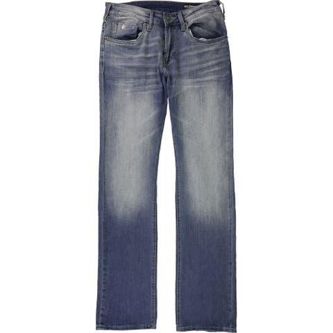 Buffalo David Bitton Mens Driven-X Relaxed Jeans, blue, 30W x 32L - 30W x 32L