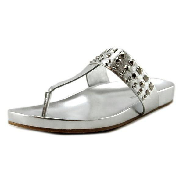 Marc Fisher Samba Open Toe Leather Thong Sandal