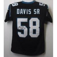 7fe2b6a9f Shop Autographed Stephen Davis Panthers NFL Reebok