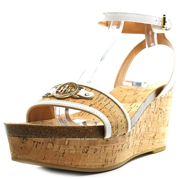 Tommy Hilfiger Hesley Women  Open Toe Synthetic  Wedge Sandal