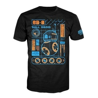 Star Wars Funko POP Tees BB-8 Blueprint