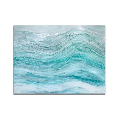 'Neptune's Fury' Wrapped Canvas Wall Art by Norman Wyatt Jr.