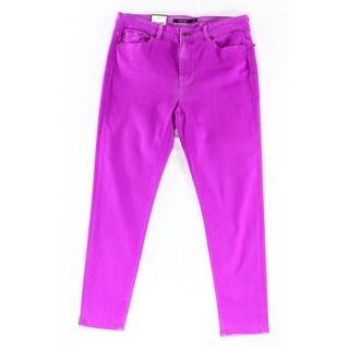 Lauren Ralph Lauren NEW Purple Women's Size 6X26 Slim Skinny Jeans