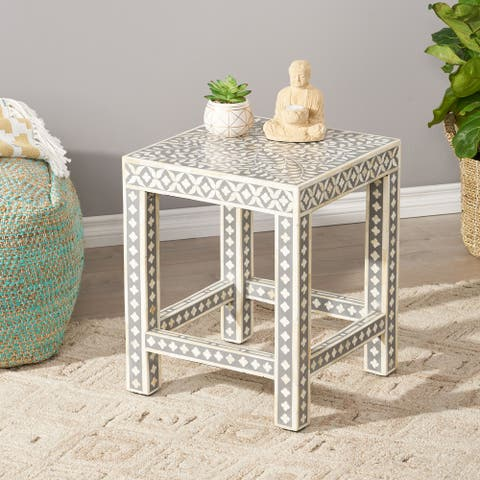 Eutaw Mango Wood End Table by Christopher Knight Home