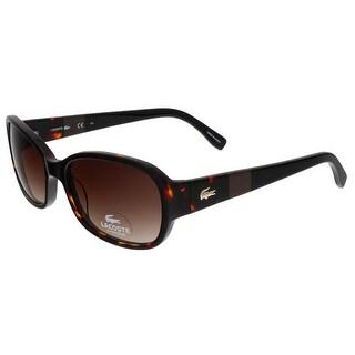 Lacoste L784/S 214 Havana Rectangle sunglasses Sunglasses