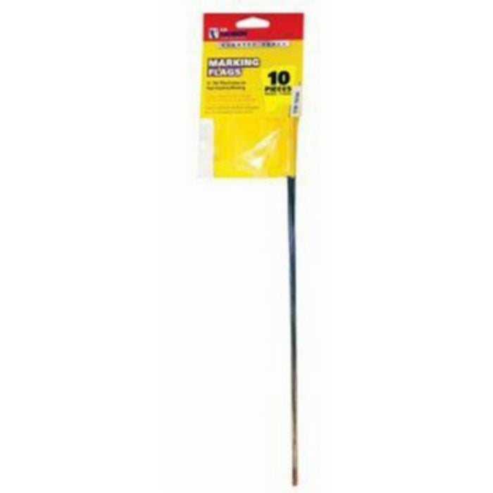 CH Hanson 15181 Yellow Marking Stake Flag, 2-1/2 x 3-1/2, 10 Pack