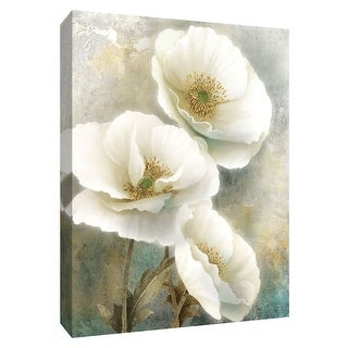 """PTM Images 9-148693  PTM Canvas Collection 10"""" x 8"""" - """"Soft Spring I"""" Giclee Flowers Art Print on Canvas"""