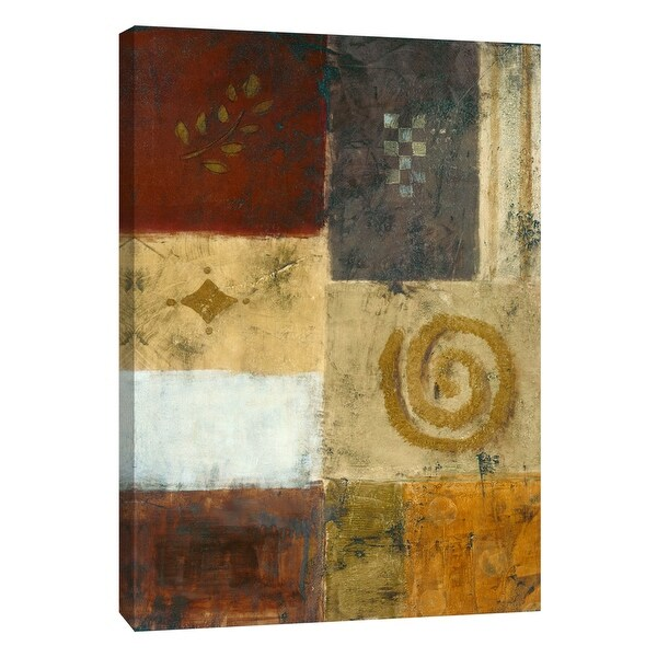 "PTM Images 9-105257 PTM Canvas Collection 10"" x 8"" - ""Yesterday II"" Giclee Abstract Art Print on Canvas"