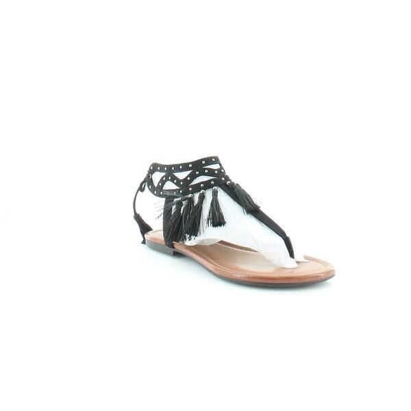 Jessica Simpson Kamel Women's Sandals & Flip Flops Black - 5.5