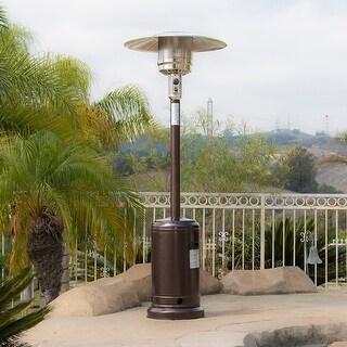 Patio heater Natural Gas Belleze 48000btu Premium Patio Heater Propane Csa Certified Hammered Bronze Overstock Buy Patio Heaters Online At Overstockcom Our Best Outdoor Decor Deals