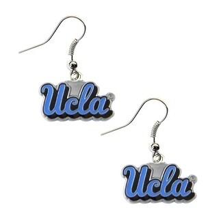 Nhl Ucla Bruins Dangle Logo Earring Set Charm Gift