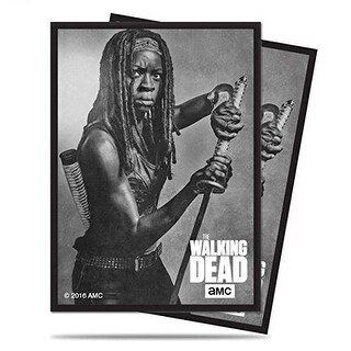 The Walking Dead Standard Deck Protectors - Michonne (50)