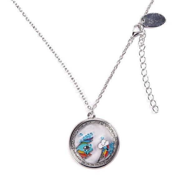 My Little Pony Rainbow Dash Charm Shaker Necklace - multi