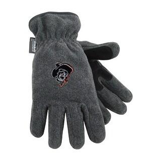Oklahoma State University Heavy-Weight Fleece Gloves