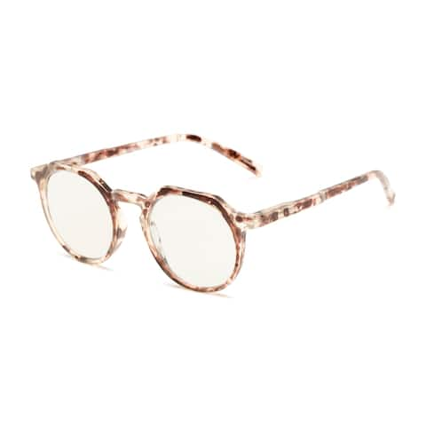Readers.com The Callum Blue Light Reader Round Reading Glasses
