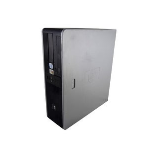 "HP Compaq dc5700 SFF Standard Refurb PC - Intel Core 2 Duo E6300 1.86 GHz 4GB DIMM DDR2 SATA 3.5"" 80GB DVD-ROM Windows 7 Home"