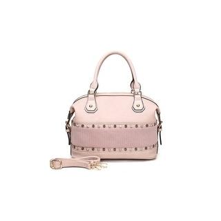 Style Strategy Cherry Satchel Bag Light Pink