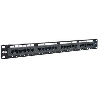 """Trendnet - Tc-P24c6 - 24 Port Cat.6 19"""" Rm Patch Pan"""