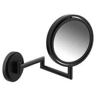Moen YB0892  Arris Wall Mounted Makeup Mirror with 5 Time Magnification