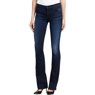 7 For All Mankind Womens Kimmie Bootcut Jeans Denim Mid-Rise