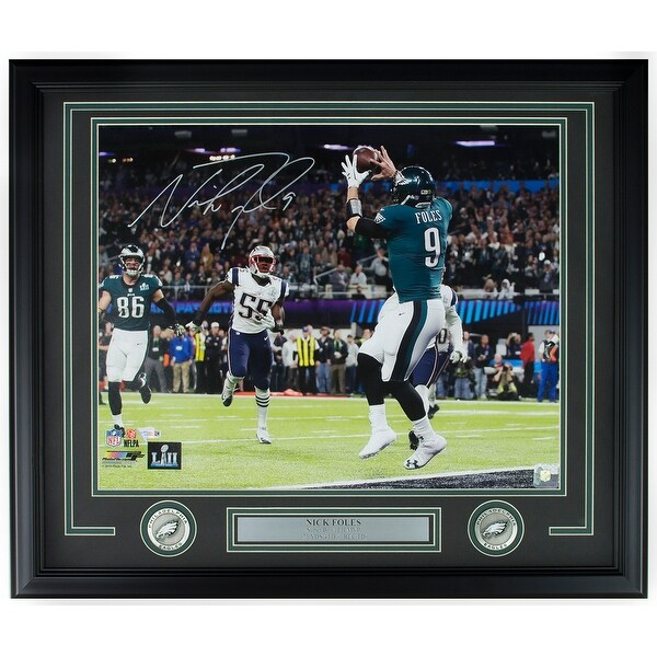 ac8b7386c85 Nick Foles Signed Framed 16x20 Eagles SB 52 Philly Special Photo Fanatics