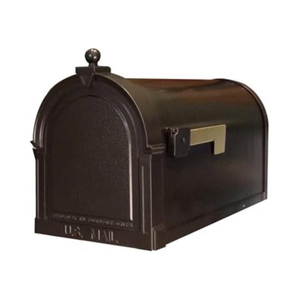 Berkshire Curbside Mailbox With Paper Oil Rubbed Bronze