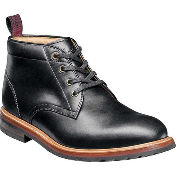 40ec4253988b6 Shop Florsheim Men's Foundry Plain Toe Chukka Boot Black Horween ...