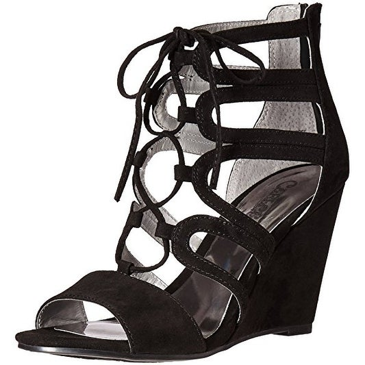 Carlos by Carlos Santana Womens Madelyn Fabric Open Toe Casual Strappy Sandals - 10