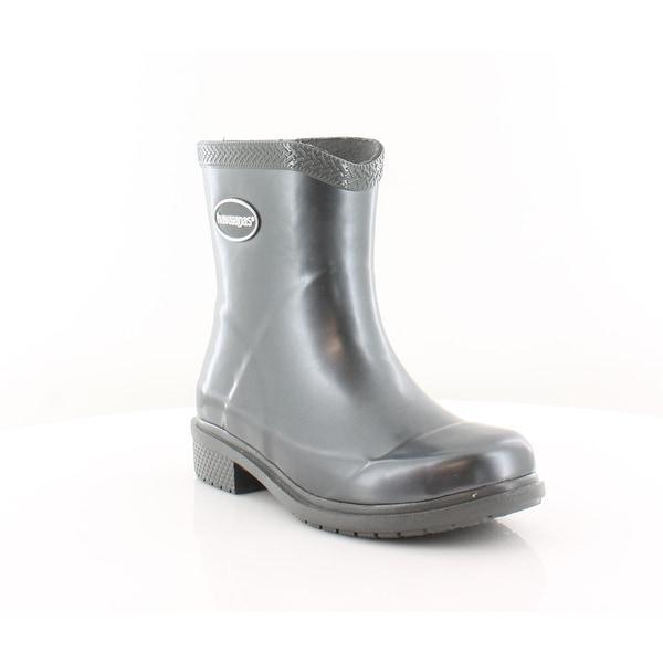 Havaianas Galochas Low Women's Boots Grey Metallic - 5.5