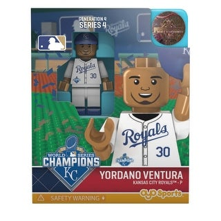 Kansas City Royals MLB OYO Sports Mini Figure: Yordano Ventura - multi
