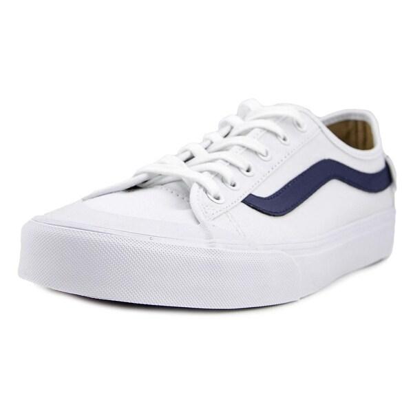 130278c2d3 Shop Vans Black Ball SF White Round Toe Canvas Skate Shoe - Free ...