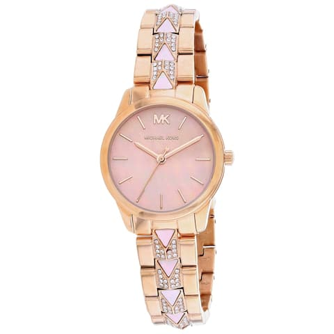 Michael Kors Women's Runway White Dial Watch - MK6856 - One Size