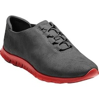 Cole Haan Women's ZEROGRAND Perforated Trainer Pavement Nubuck/Molten Lava