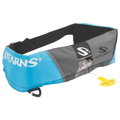 Stearns 0340 16 gram manual inflatable belt pack blue