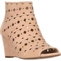 MICHAEL Michael Kors Uma Wedge Perforated Wedge Pumps, Bisque